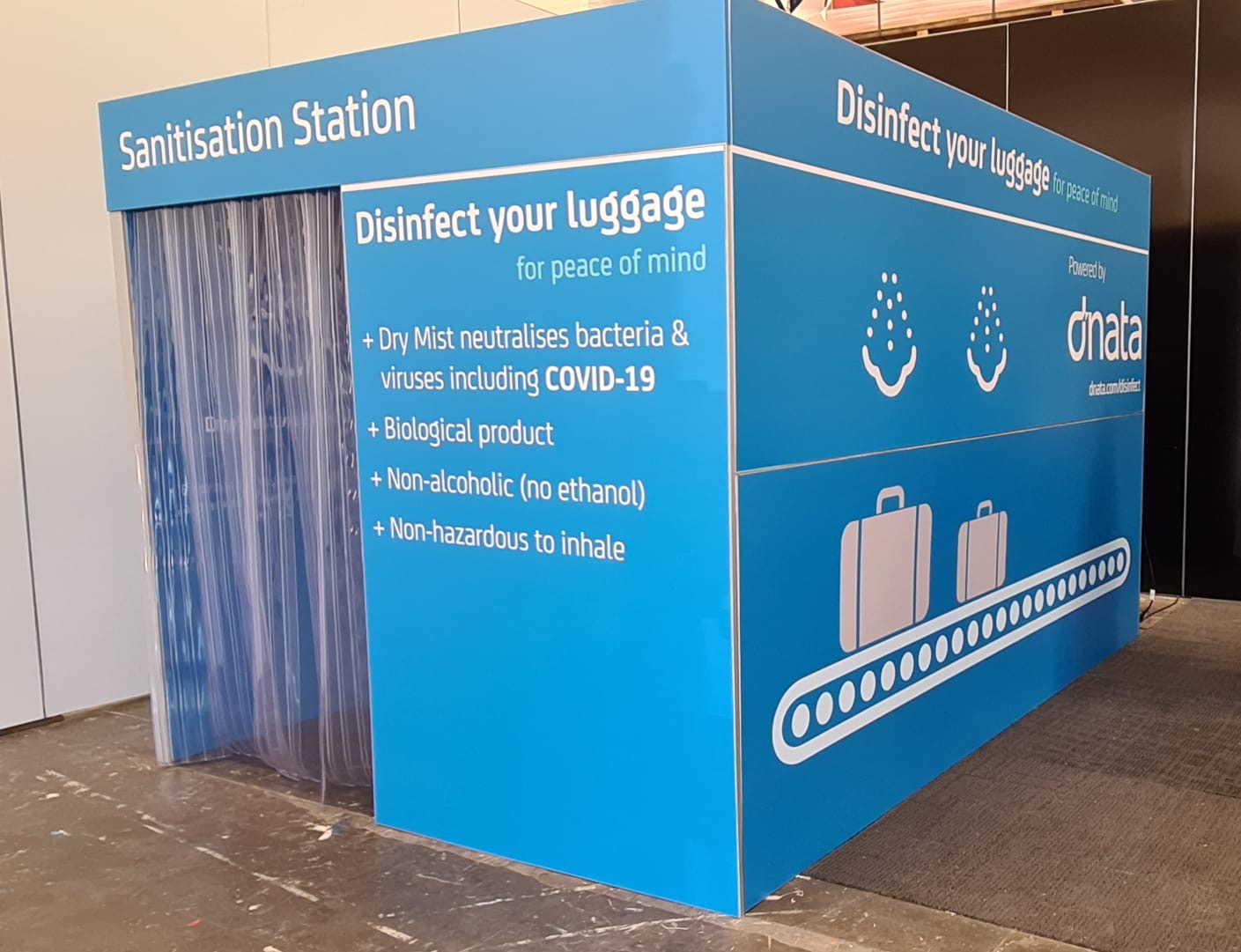 luggage disinfection